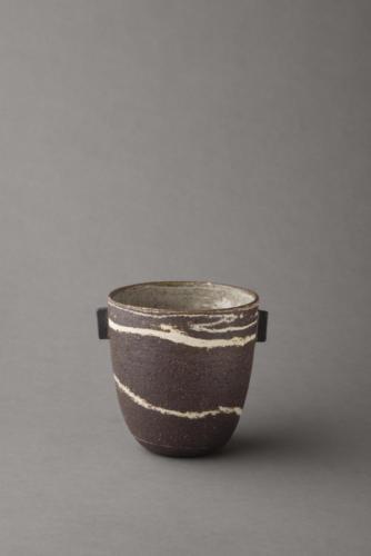 black and white vessel