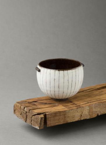 ania perkowska black  white bowl