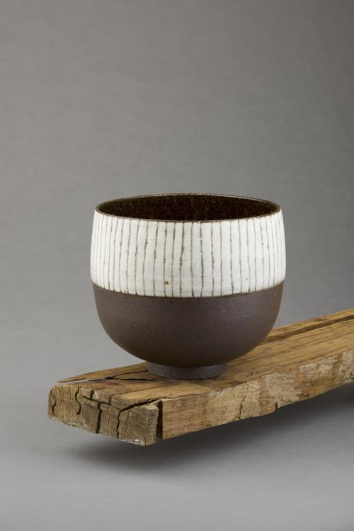 Black & White stripy bowl
