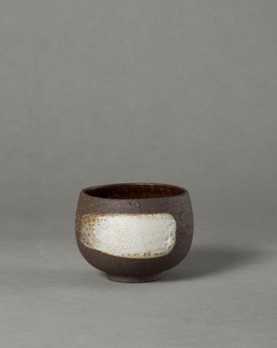 black lava bowl