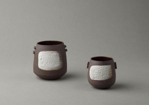 black lava vessels